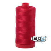 Aurifil Cotton 12wt, 2250 Red