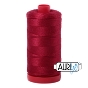 Aurifil Cotton 12wt, 2260 Red Wine