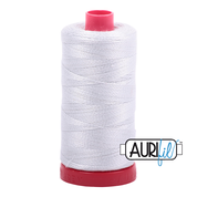Aurifil Cotton 12wt, 2600 Dove