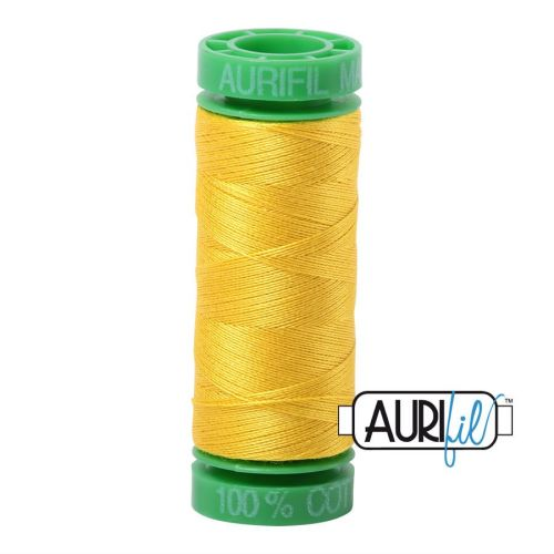 Aurifil Cotton 40wt, 2120 Canary