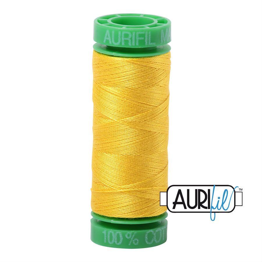 Aurifil Cotton 40wt, 2120 Canary