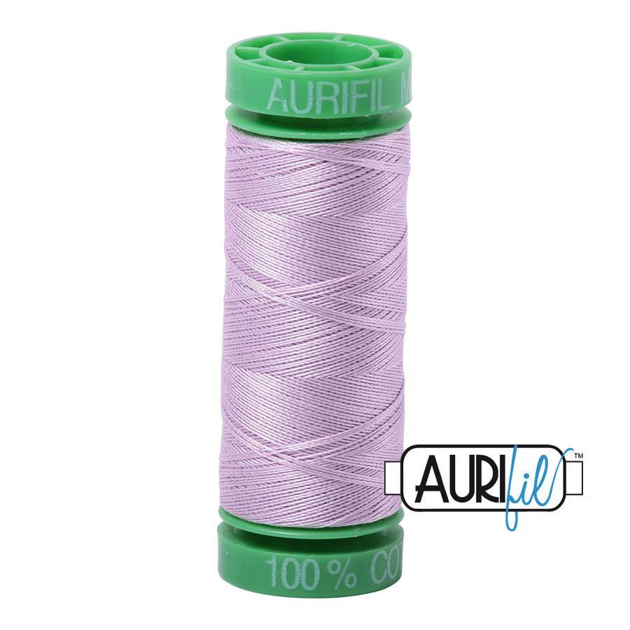 Aurifil Cotton 40wt, 2510 Light Lilac