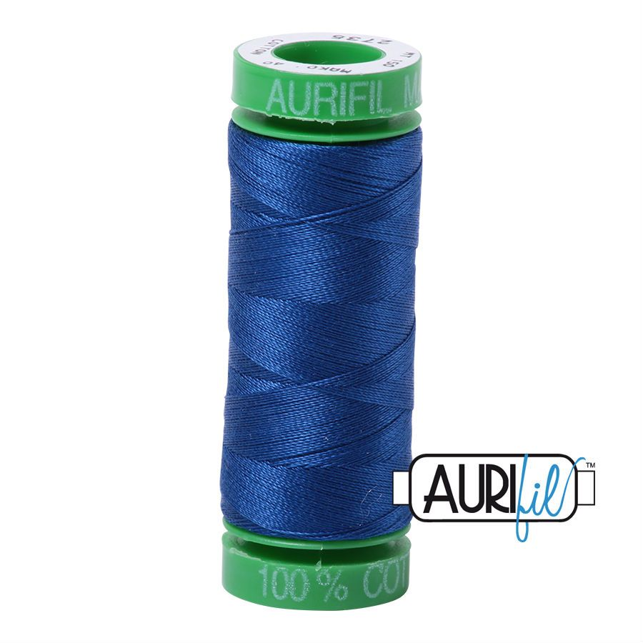 Aurifil Cotton 40wt, 2735 Medium Blue