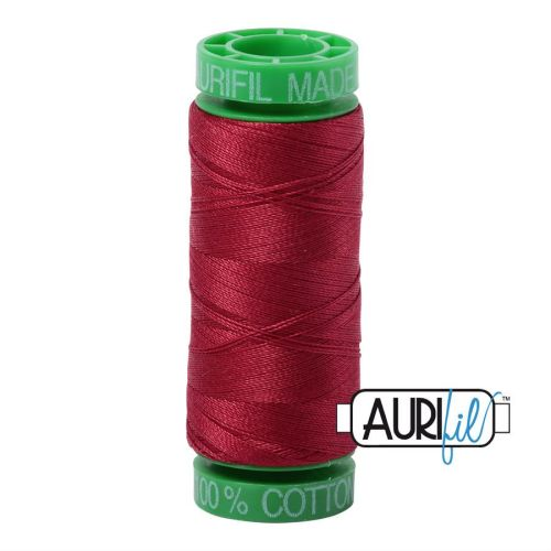 Aurifil Cotton 40wt, 1103 Burgundy