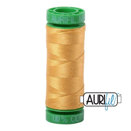 Aurifil Cotton 40wt, 2132 Tarnished Gold