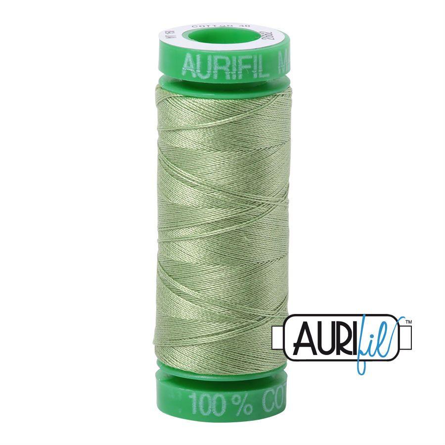 Aurifil Cotton 40wt, 2882 Light Fern