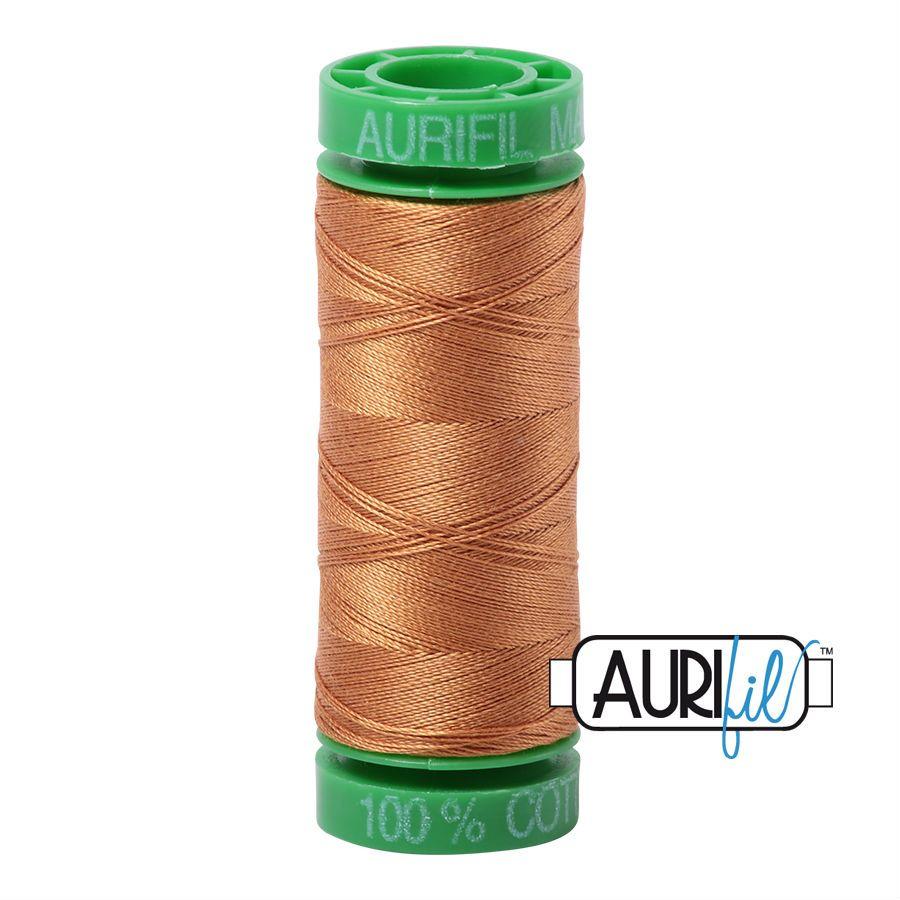 Aurifil Cotton 40wt, 2930 Golden Toast