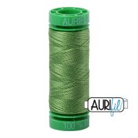 Aurifil Cotton 40wt, 1114 Grass Green