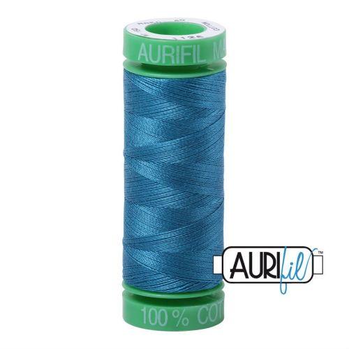 Aurifil Cotton 40wt, 1125 Medium Teal