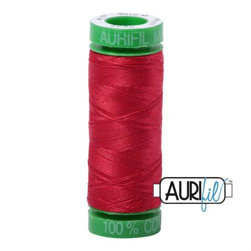 Aurifil Cotton 40wt, 2250 Red