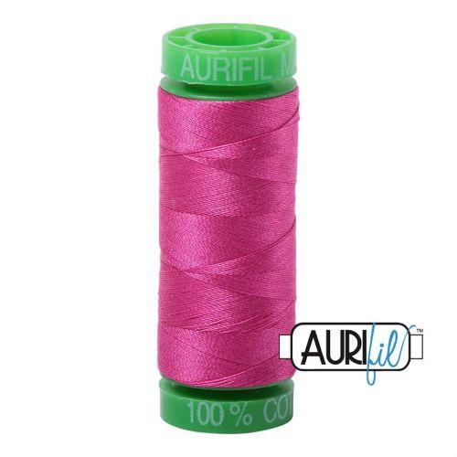 Aurifil Cotton 40wt, 4020 Fuscia
