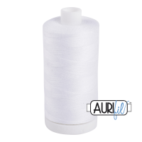Aurifil Bobbin Fill (Under-Thread) - White