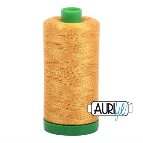 Aurifil Cotton 40wt, 2140 Orange Mustard