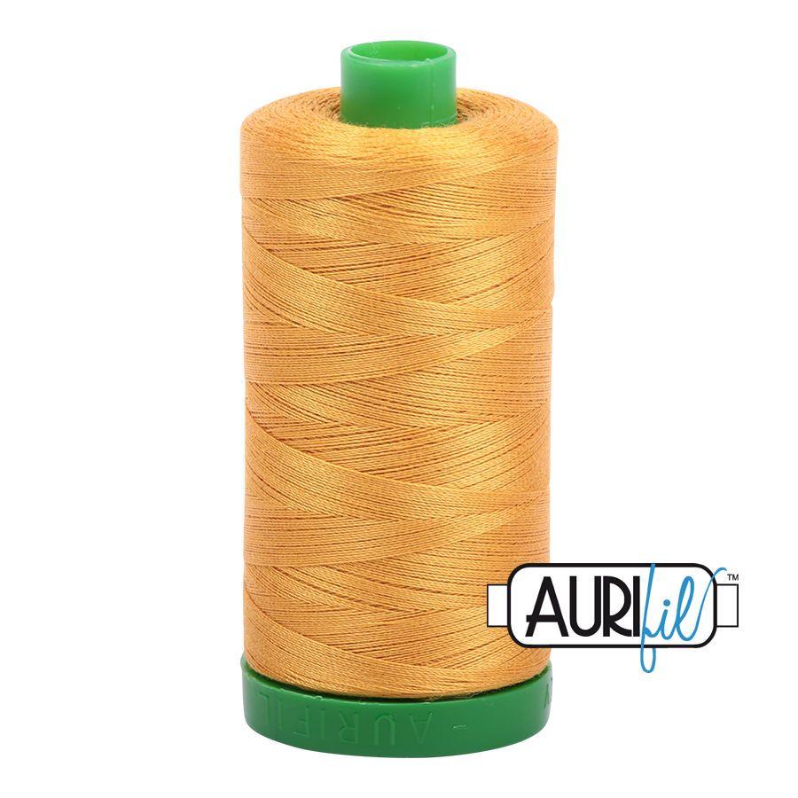 Aurifil Cotton 40wt, 2140 Orange Mustard