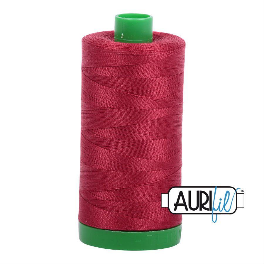 Aurifil Cotton 40wt, 1103 Burgundy