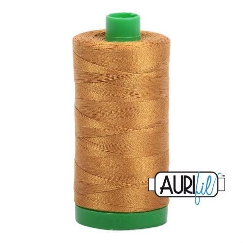 Aurifil Cotton 40wt, 2975 Brass