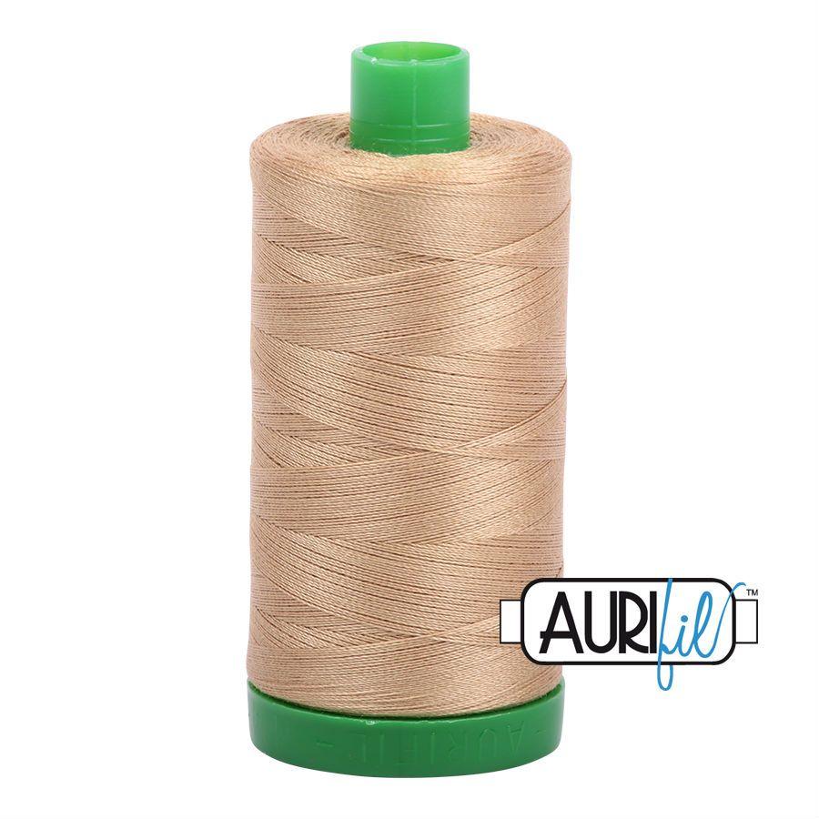 Aurifil Cotton 40wt, 5010 Blond Beige