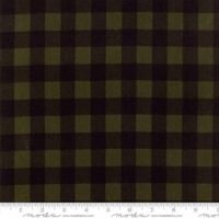 Brushed Cotton Flannel - Wool & Needle Flannel - Primitive Gatherings - No. 1221 20 (Evergreen) - Moda