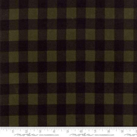 Moda - Wool & Needle Flannel - Primitive Gatherings - No. 1221 20 (Evergreen)