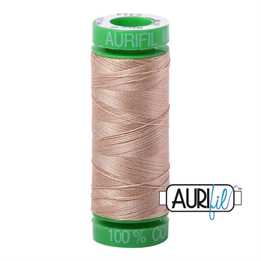 Aurifil Cotton 40wt, 2314 Beige