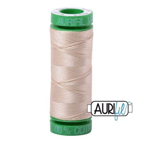 Aurifil Cotton 40wt, 2312 Ermine