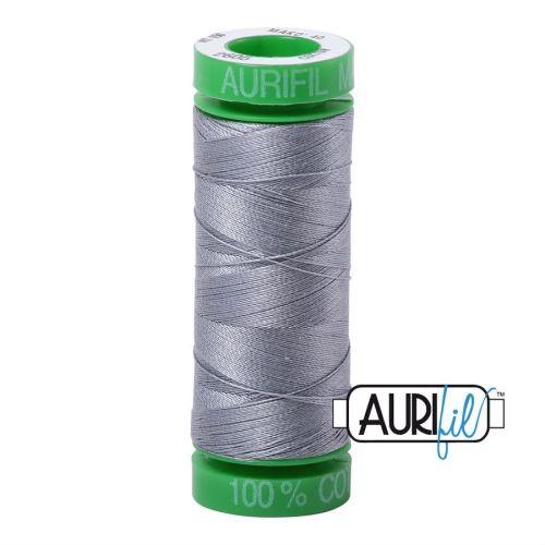 Aurifil Cotton 40wt, 2605 Grey