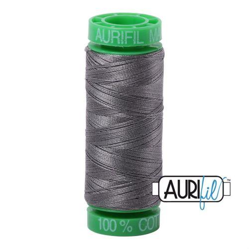 Aurifil Cotton 40wt, 5004 Grey Smoke