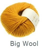 Big wool button