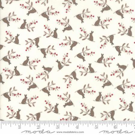 Moda - Cottontail Cottage - No. 2922 11 White Bunny Branch