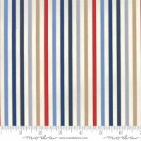 Moda - Essentially Yours - Stripe - No. 8652-18 (Multi Blue)