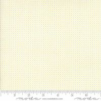 Moda - Essentially Yours - Mini Dot - No. 8655-100 (White, Grey and Yellow)