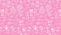 Makower - Merryn - 2006/P Outline Tonal Pink