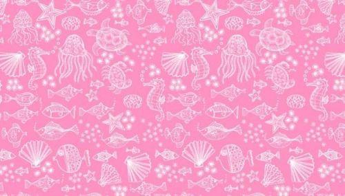 Makower - Merryn - 2006/P Outline Tonal Pink