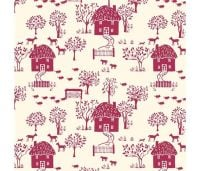 Liberty London Fabrics - The Cottage Garden - Cottage Lane LF04775-616X
