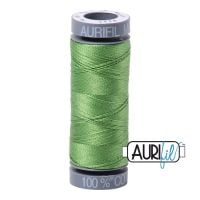 Aurifil Cotton 28wt, 1114 Grass Green