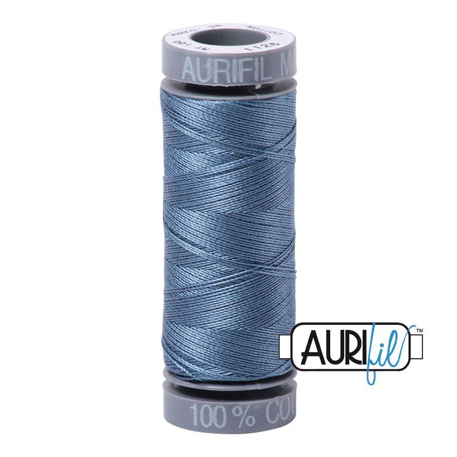Aurifil Cotton 28wt, 1126 Blue Grey