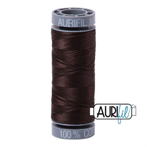Aurifil Cotton 28wt, 1130 Very Dark Bark