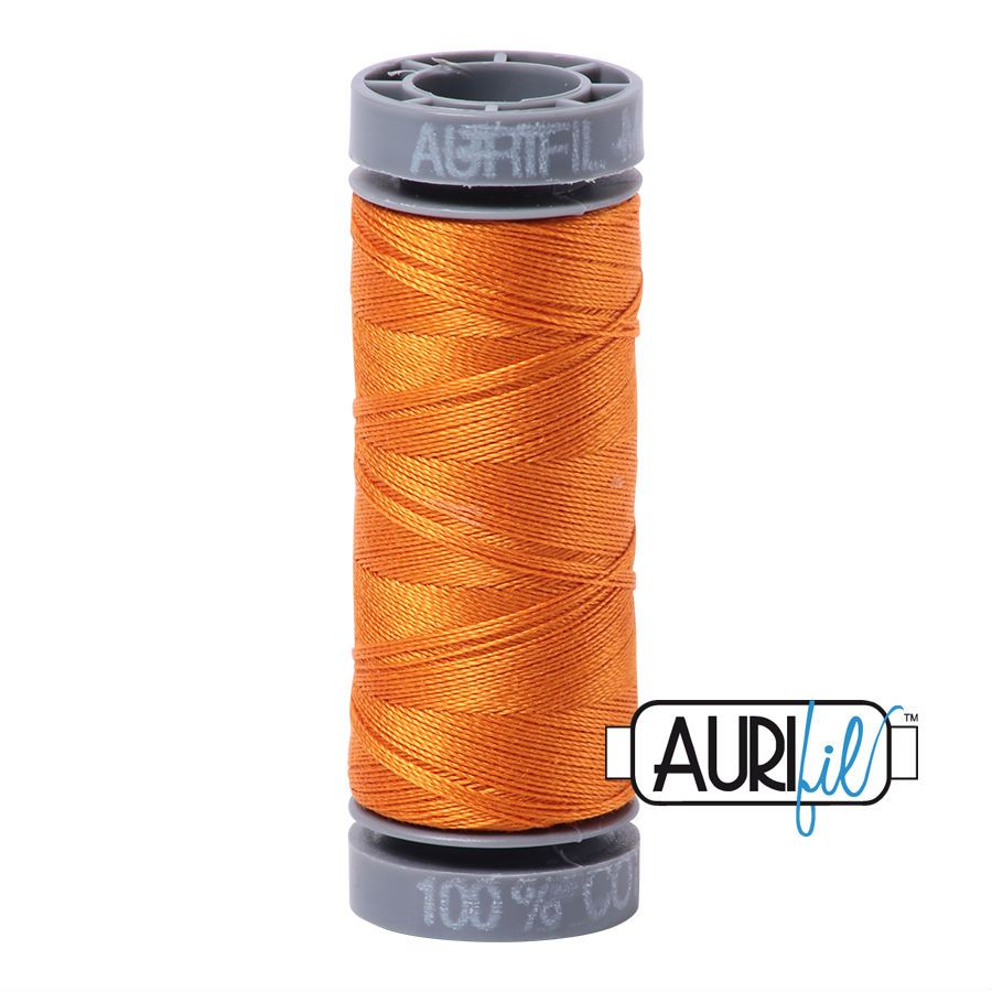 Aurifil Cotton 28wt, 1133 Bright Orange