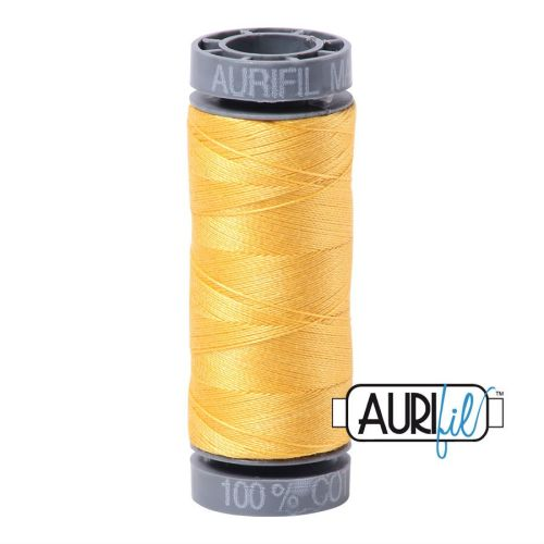 Aurifil Cotton 28wt, 1135 Pale Yellow