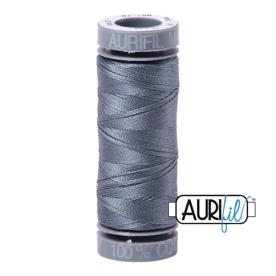Aurifil Cotton 28wt, 1246 Dark Grey