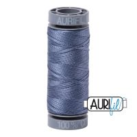 Aurifil Cotton 28wt, 1248 Dark Grey Blue