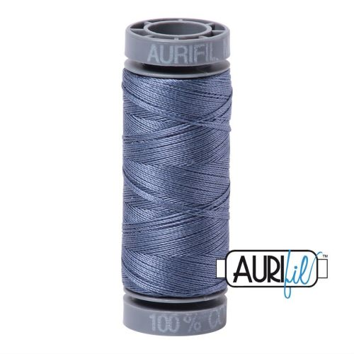 Aurifil Cotton 28wt, 1248 Dark Grey Blue