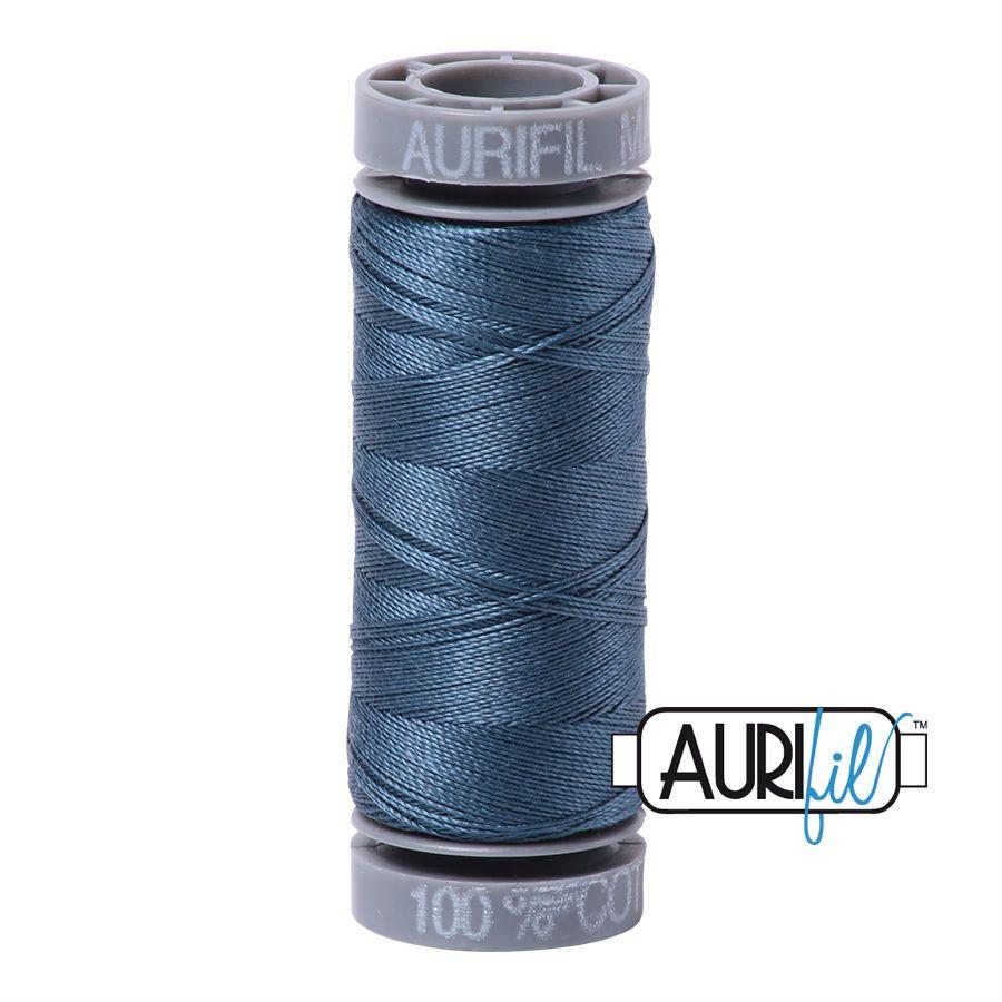 Aurifil Cotton 28wt, 1310 Medium Blue Grey