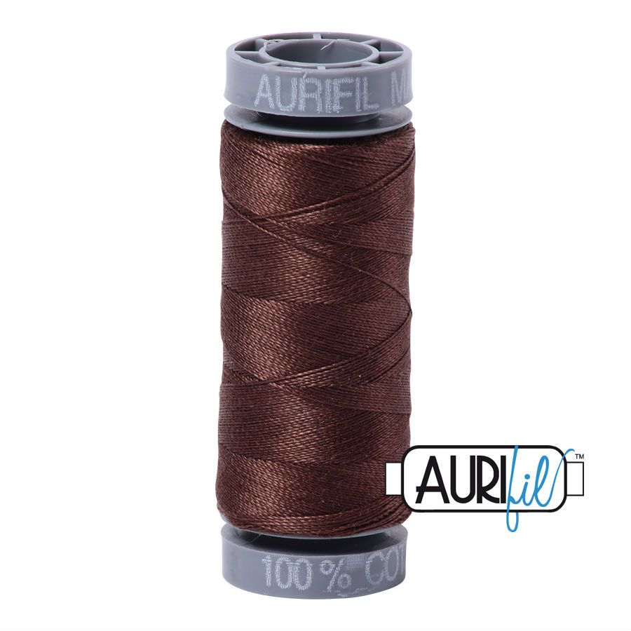 Aurifil Cotton 28wt, 1285 Medium Bark