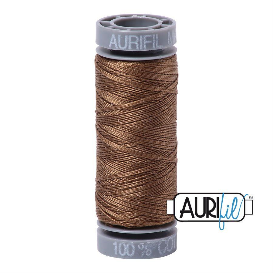 Aurifil Cotton 28wt, 1318 Dark Sandstone