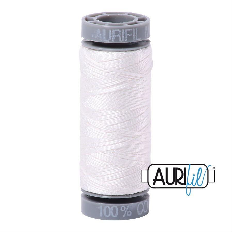 Aurifil Cotton 28wt, 2021 Natural White
