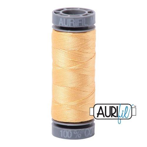 Aurifil Cotton 28wt, 2130 Medium Butter