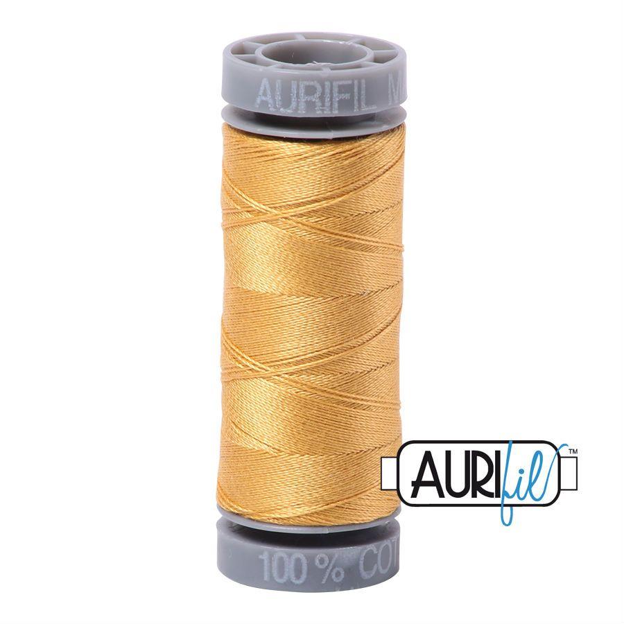 Aurifil Cotton 28wt, 2134 Spun Gold