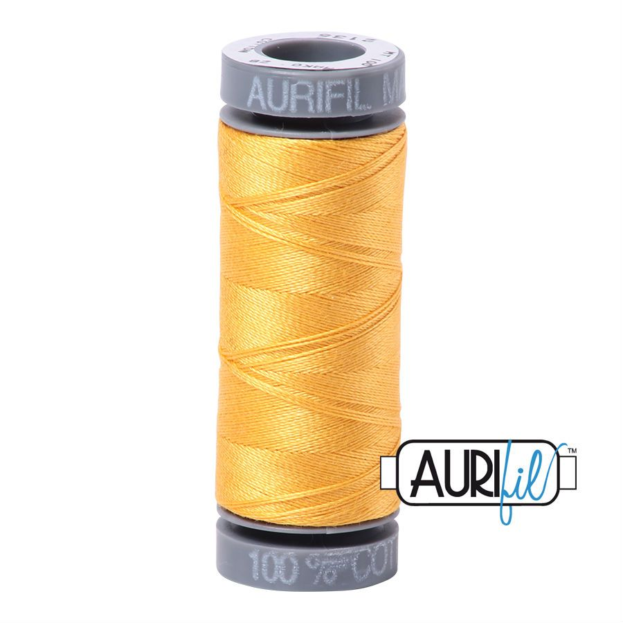 Aurifil Cotton 28wt, 2135 Yellow