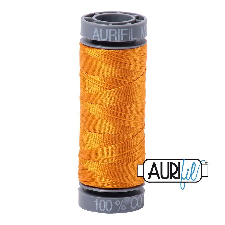 Aurifil Cotton 28wt, 2145 Yellow Orange